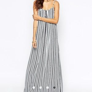 The Jetset Diaries Confidence Striped Maxi Dress